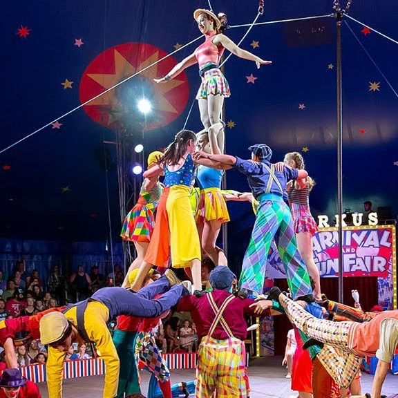 Start to be: een circusartiest