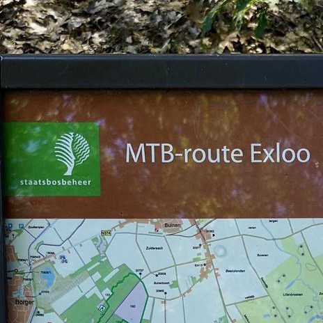 MTB route Exloo